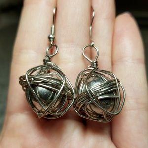 Jewelry - ♾ Tangled Handmade Earrings